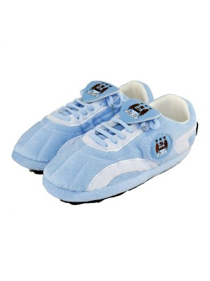Manchester City Sloffie Boot Slippers -L