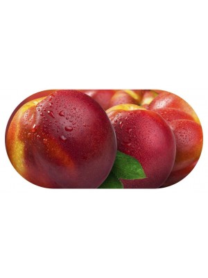 Funky Peach Contact Lens soaking Case With Mirror