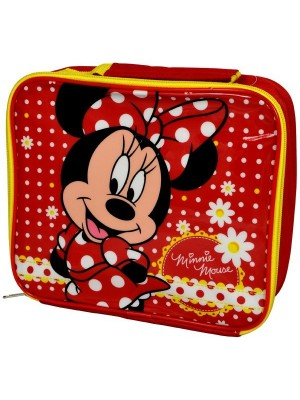 Minnie Mouse Red Daisy Lunch Bag
