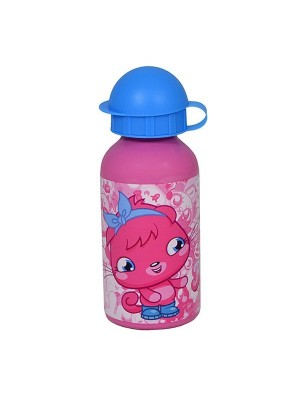 Moshi Monsters Pink Poppet Aluminium Water Bottle