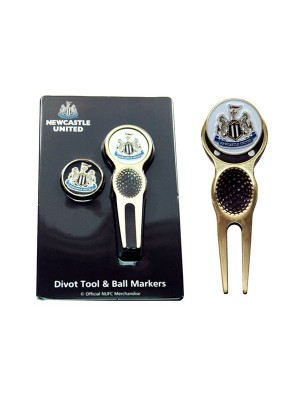 Newcastle United Golf Divot Tool & Ball Markers