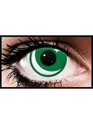 Pakistani Flag Colour Contact Lenses (90 Day)