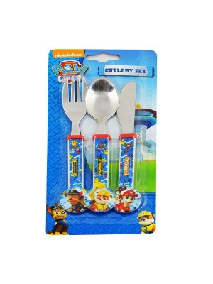 Paw Patrol 3PC Cutlery Set