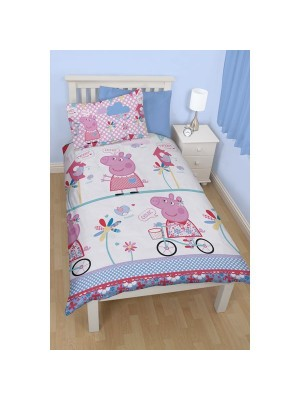Peppa Pig Tweet Reversible Single Duvet