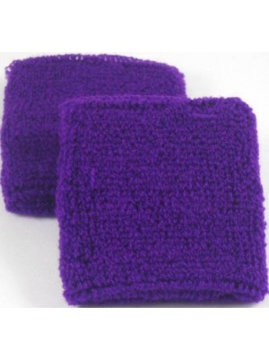 Plain Purple Sweatband / Armband
