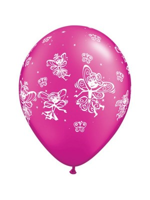 Qualatex 11 Inch Assorted Latex Balloon - Fairies Butterflies