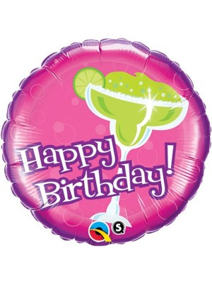 Qualatex 18 Inch Round Foil Balloon - Birthday Forget The Cake
