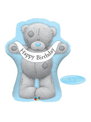 Qualatex 36 Inch Shaped Foil Balloon - Me To You Birthday Banner
