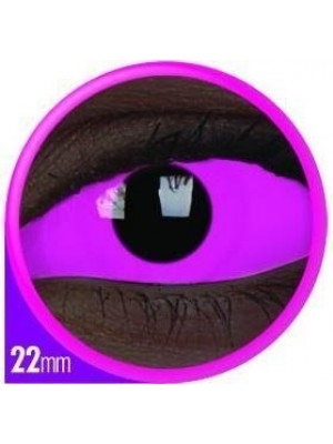 ColourVUE UV Raiden Pink Sclera Full Eye Contact Lenses 22mm (6 Month)