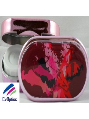 Pretty Red Karine Faou Contact Lens Soaking Case