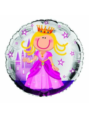 Simon Elvin 18 Inch Foil Balloon - Princess