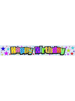 Simon Elvin Birthday Foil Banner - Adult