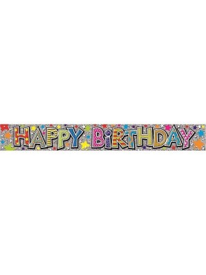 Simon Elvin Birthday Foil Banner - Child