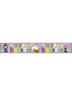 Simon Elvin Foil Banner - Birthday Boy