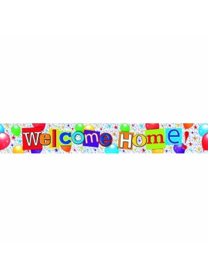 Simon Elvin Foil Banner - Welcome Home
