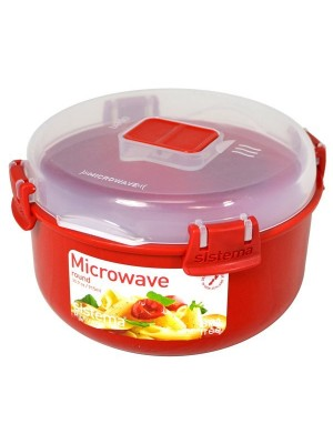 Sistema Round Microwave Bowl - Red