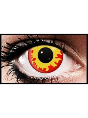 Fire Eyez Halloween Crazy Coloured Contact Lenses (90 Days)