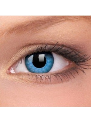 Solar Blue Crazy Colour Contact Lenses (1 Year Wear)