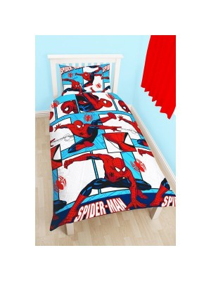 Spiderman Parker Reversible Single Duvet