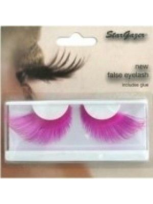 Stargazer Reusable False Eyelashes Bright Neon Pink 68