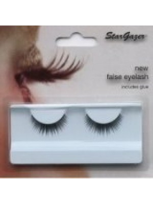 Stargazer Reusable False Eyelashes Natural Black 71