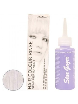 White Stargazer Semi Permanent Hair Dye