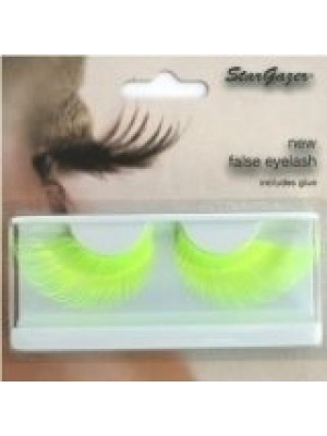 Stargazer Reusable False Eyelashes Bright Neon Yellow 67