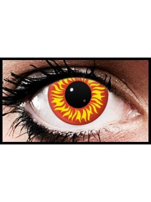 Sun Burst Crazy Coloured Contact Lenses (90 Days)
