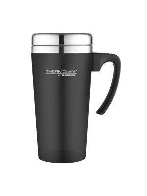 Thermos Thermocafe Zest Black Travel Mug - 420 ML