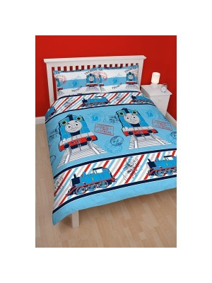 Thomas Adventure Reversible Double Duvet