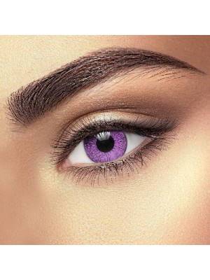 Vibrant Violet 2 Tone Coloured Contact Lenses