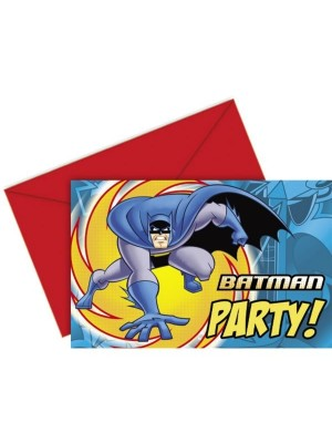Unique Party Invites & Envelopes - Batman