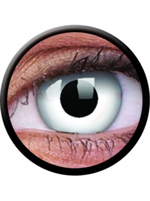 1 Day Use Whiteout Coloured Contact Lenses