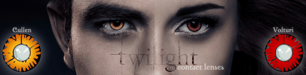 twilight coloured contact lenses. Get that Edward Cullan look.